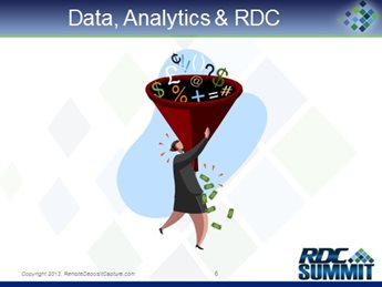 The Payments Trifecta: Data, Analytics and RDC