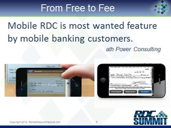 From Free to Fee: Using Mobile RDC as the Springboard for Monetizing Mobile