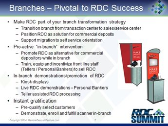 Success in Marketing & Selling RDC