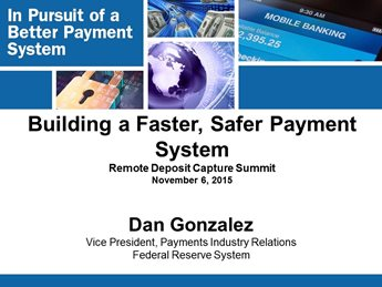 Payments Modernization & RDC: Impacts, Challenges & Opportunities