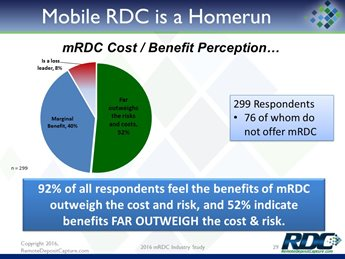Results & Insights from the 2016 Mobile RDC Industry Study