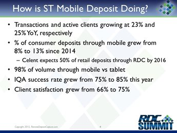 SunTrust Mobile Deposit: Taking it to the Next Level
