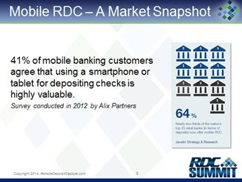 Mobile Remote Deposit Capture: Providing Corporate and Consumer Customers More Options